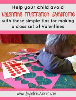 Tips for Making a Class Set of Valentines Without Tears