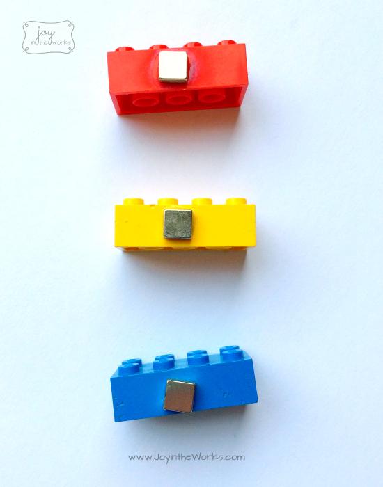 Lego Magnet Bricks