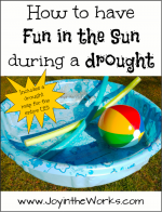 How to Have Fun in the Sun During a Drought