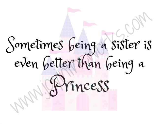 Princess Sisters Printable