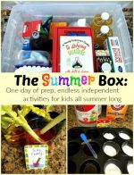 The Summer Box: One Day of Prep, Endless Activities All Summer Long