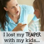 "After one of ""those"" days where I yell and lose my temper all day long, here are some simple tricks I use to help re-connect with my kids!"
