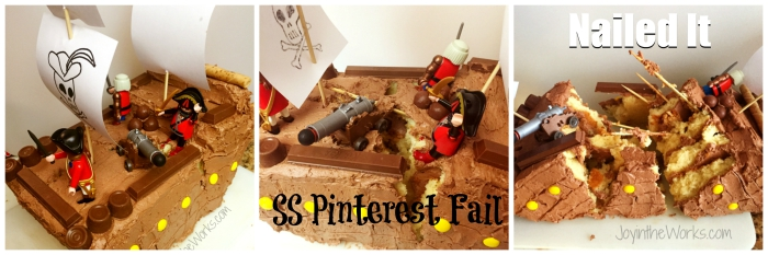 Nailed It Pirate Cake, SS Pinterest Fail