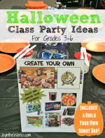 Halloween Class Party Ideas for Grades 3-6