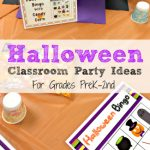 Halloween Class Party Ideas Grades PreK-2nd