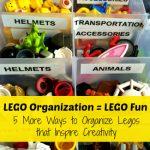 Lego Organization = Lego Fun