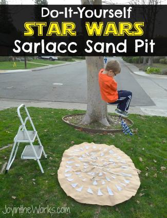 DIY Star Wars Sarlacc Sand Pit
