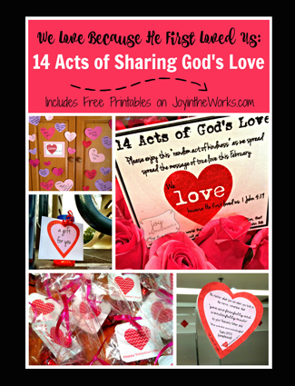 14 Acts of Sharing God's Love