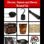 Pirate Pool Party Decor and Favor Round-Up