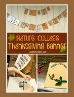 Nature Collage Thanksgiving Banner