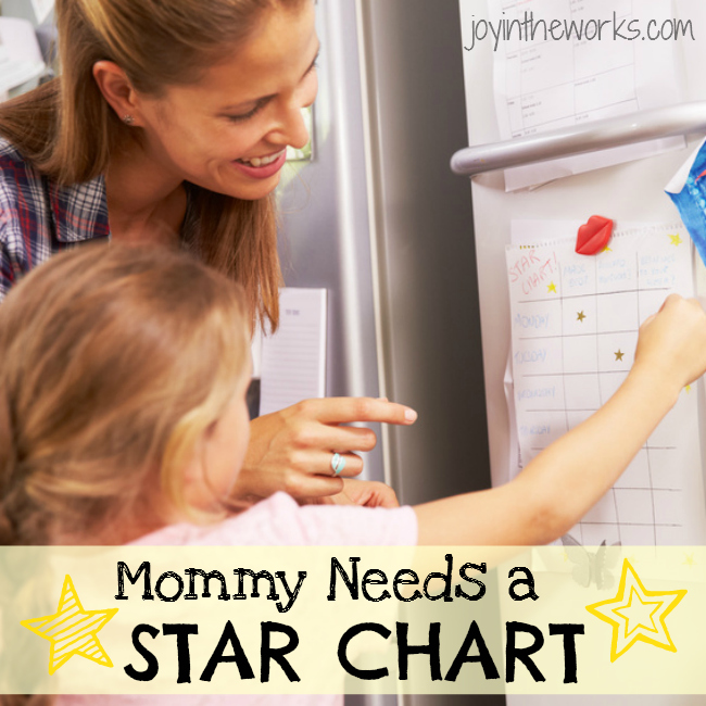Kids aren't the only ones who could benefit from a behavior change through a star chart