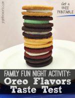 Oreo Flavors Taste Test