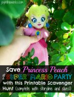 Save Princess Peach Scavenger Hunt