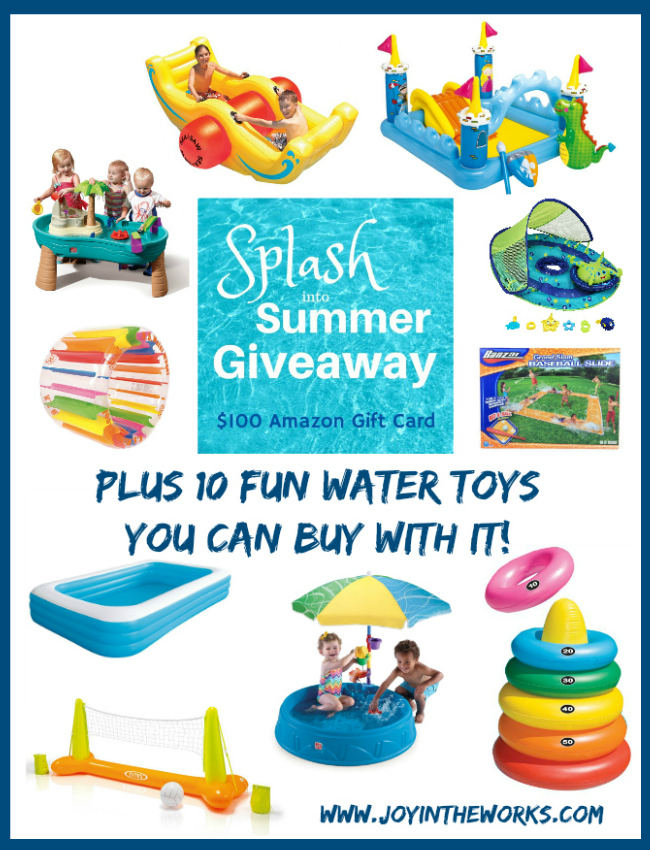 Summer Is Upon Us And We Are Celebrating With A Splash Into Summer Giveaway  For A