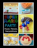 Super Mario Birthday Party: Food, Favors, Decor