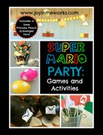 Super Mario Party Games and Activities