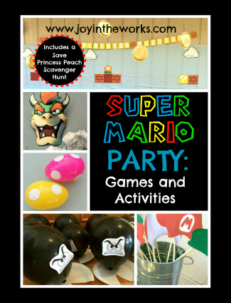 Having a Super Mario Party? Check out these themed games and activities to help host a fun party!
