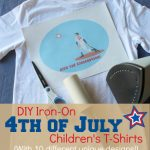 DIY Iron-On 4th of July T-Shirts