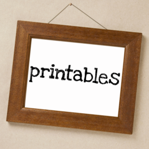 Printables Frame 800x800