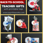 Start the school year off right with a Back-to-School Teacher Gift and themed Teacher Gift Tags in 18 different themed choices!