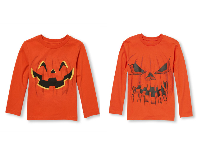 Jack 'o Lantern Halloween Shirts for Boys from Children's Place