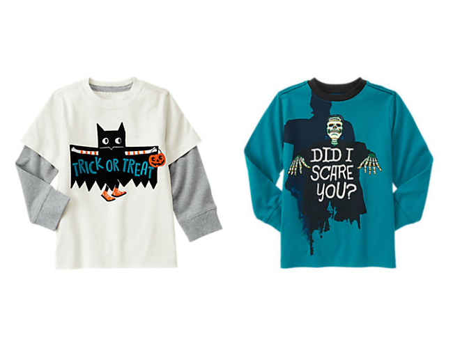 Boys Halloween Shirts from Gymboree