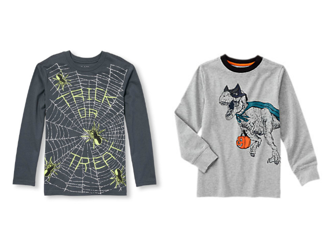Boys Halloween Shirt from Gymboree and The Children's Place