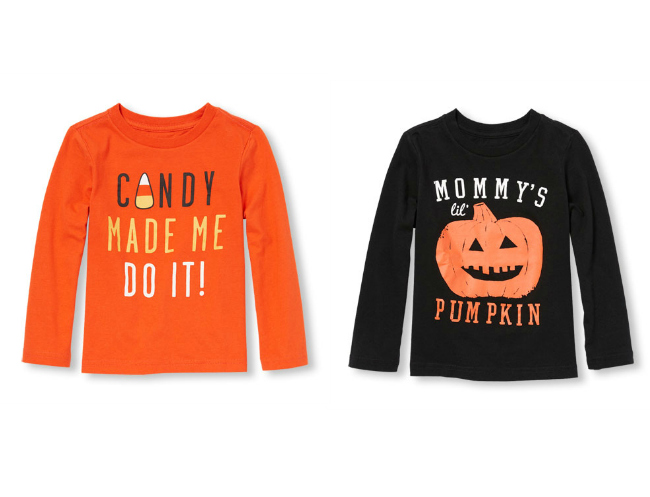 Halloween Shirts for Boys from The Children's Place