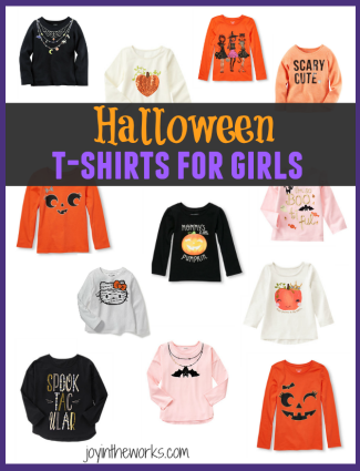 The best Halloween Shirts for Girls from Gymboree, Old Navy, Crazy 8, The Children's Place, Carters and More