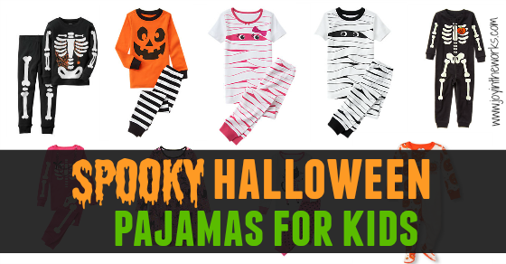 halloween pajamas for kids joy in the works