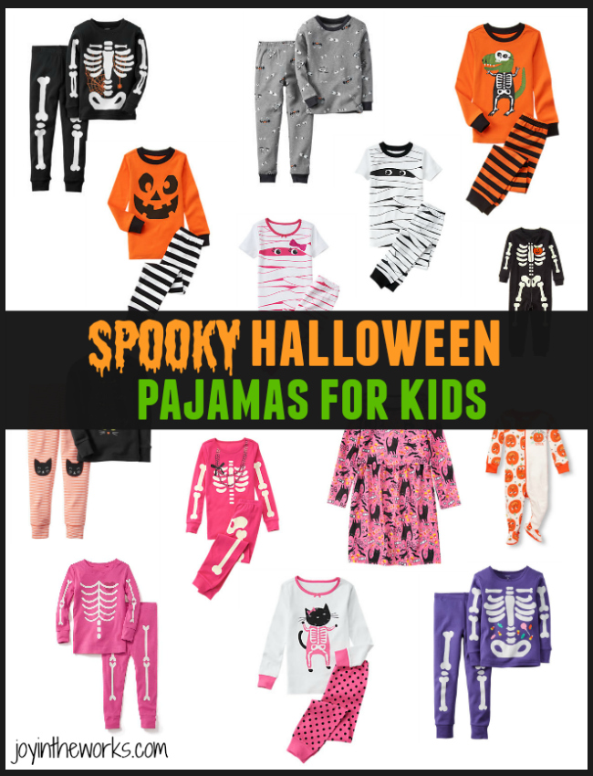 spooky and fun halloween pajamas from gymboree old navy crazy 8 the childrens