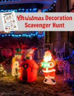 Christmas Decoration Scavenger Hunt
