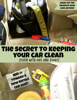The secret to keeping your car clean (and a giveaway!)