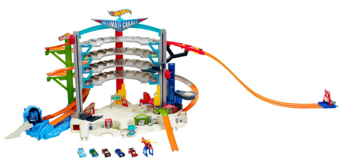 Ideas for the Big Christmas Morning Gift: Hot Wheels Garage