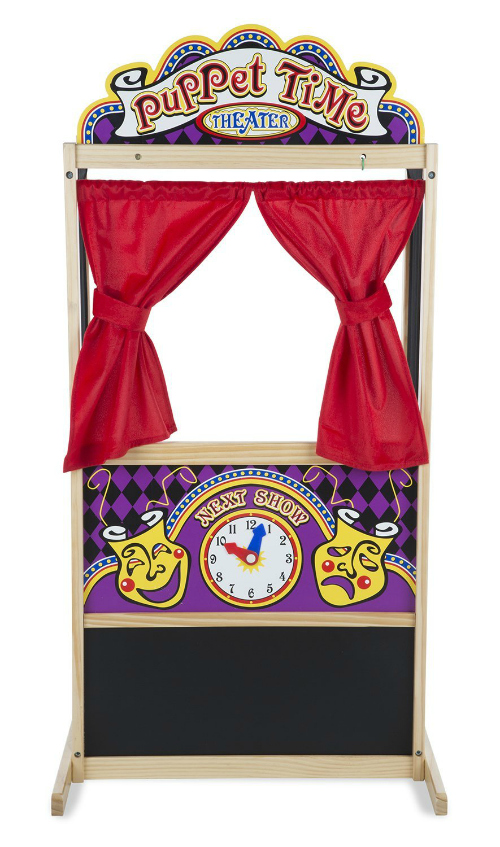 Ideas for the Big Christmas Morning Gift: Puppet Theater