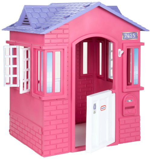 Ideas for the Big Christmas Morning Gift: Pink Playhouse
