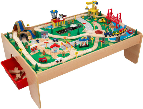Ideas for the Big Christmas Morning Gift: Train Table