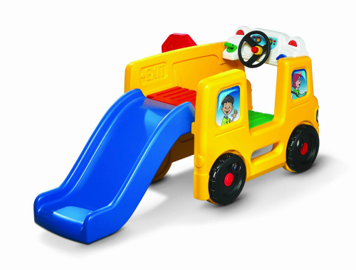 Ideas for the Big Christmas Morning Gift: Bus Toy with slide