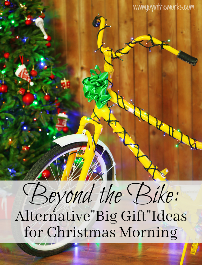 beyond the bike alternative big gift ideas for christmas mornings what does santa bring