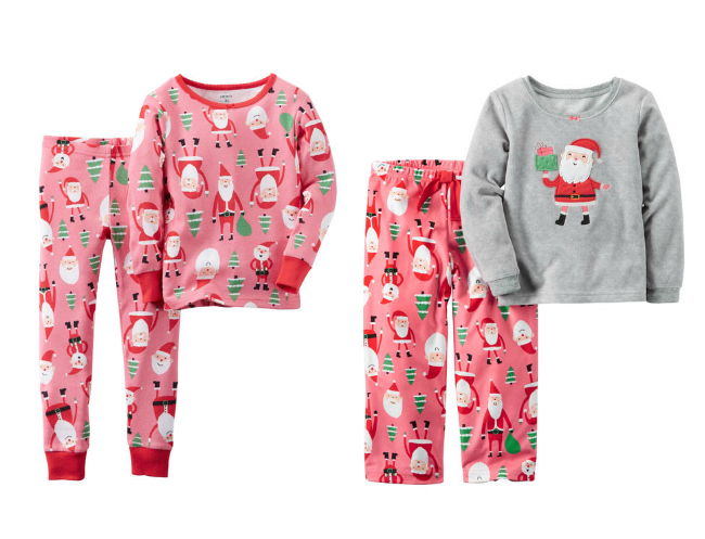 Christmas Pajamas for Girls - Joy in the Works