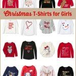 Christmas T-Shirts for Girls