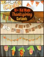 Kid Made Thanksgiving Garlands