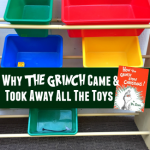 Why The Grinch Came and Took Away All the Toys