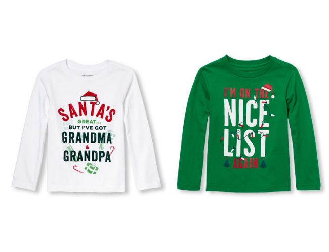 check out the best christmas t shirts for boys from gymboree carters the - Christmas Shirts For Boys
