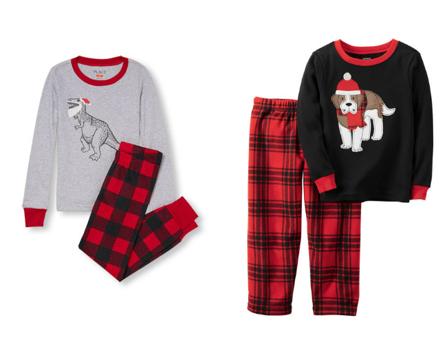 Christmas Pajamas For Boys Joy In The Works
