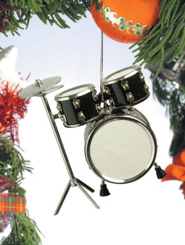 Creative Ways to Give Experiences to Kids: A musical instrument ornament for music lessons (drums or otherwise!)