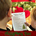 Christmas Tree I-Spy Ornament Game