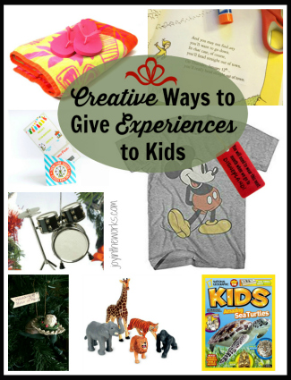 Creative Ways to Give Experiences to Kids