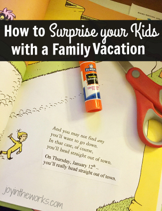 How to Surprise Your Kids with a Family Vacation