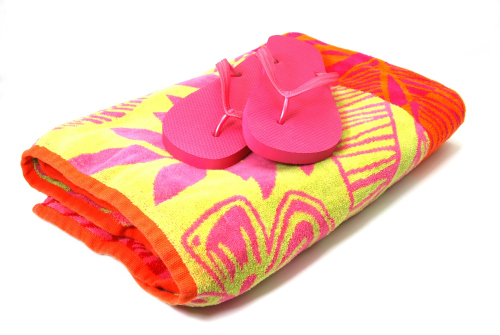 Creative Ways to Give Experiences to Kids: A beach towel for swim lessons